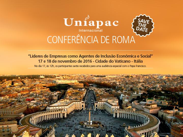 Uniapac: líderes cristãos de empresas participam de conferência em Roma